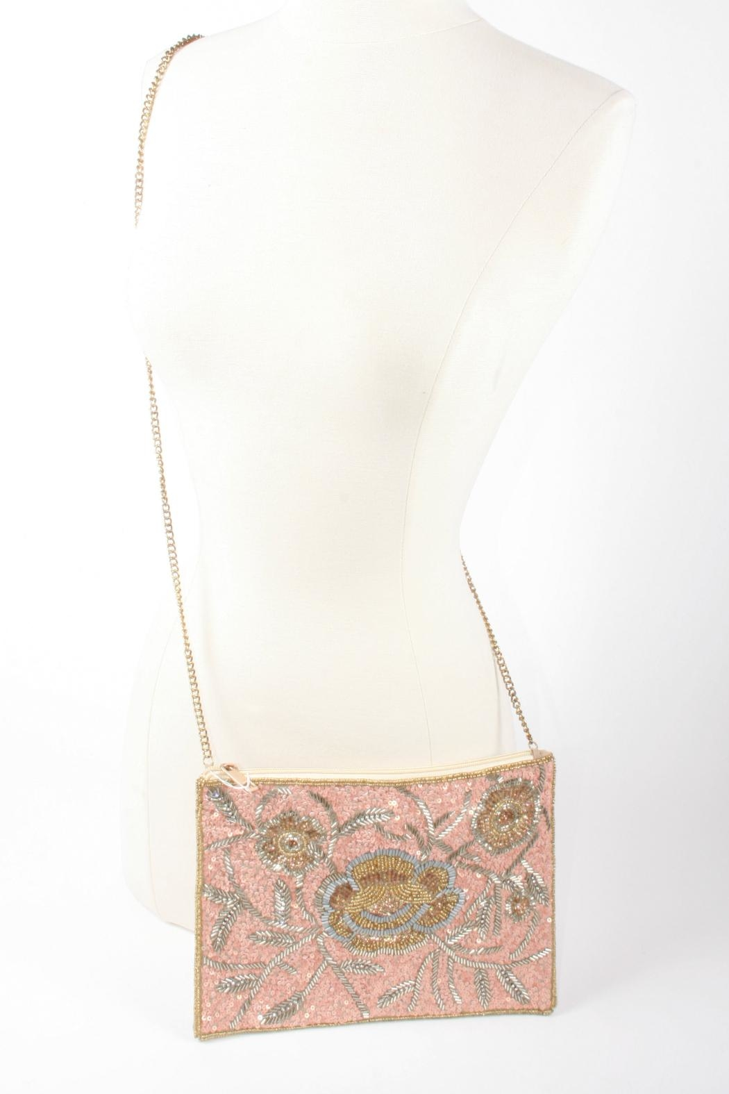Lovestitch Vintage Inspired Clutch - Side Cropped Image
