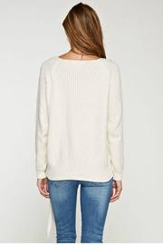 Lovestitch Waffle Knit Sweater - Front full body