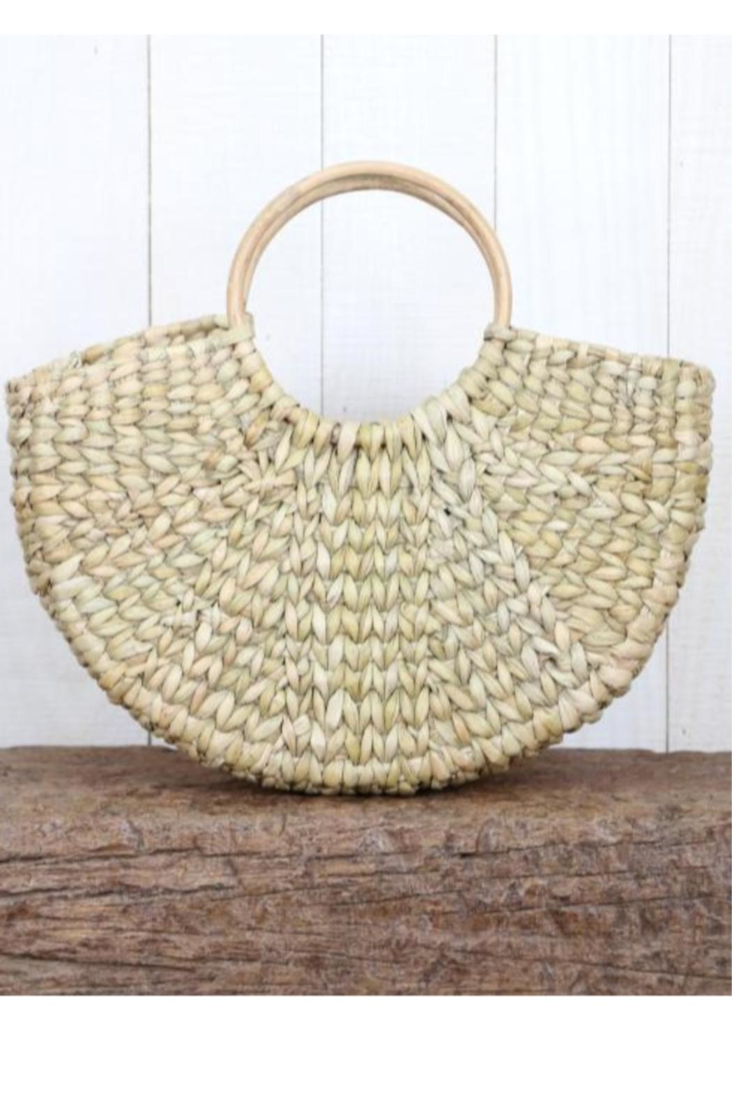 Lovestitch Woven-Bag With Fringe - Front Full Image