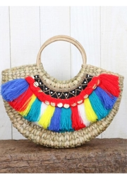 Lovestitch Woven-Bag With Fringe - Product Mini Image