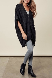 Lovestitch Zip-Up Poncho - Side cropped