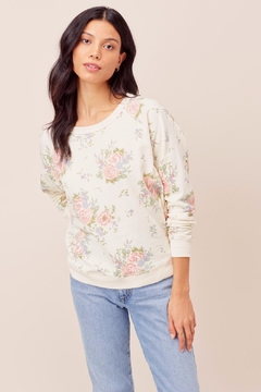 Love Stitch Zoe Floral Sweatshirt - Product List Image