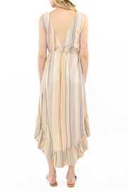 Saltwater Luxe Lovestoned Striped Maxi - Side cropped