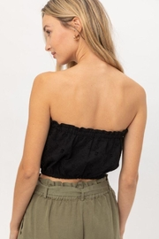 Lovetree Cotton Eyelet Bandeau Crop Top - Other
