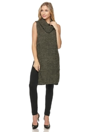 Lovetree Cowl-Neck Sleeveless Sweater - Product Mini Image