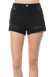 Lovetree Distressed Cuffed Shorts - Product Mini Image