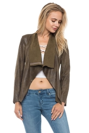 Lovetree Front Drape Jacket - Front cropped