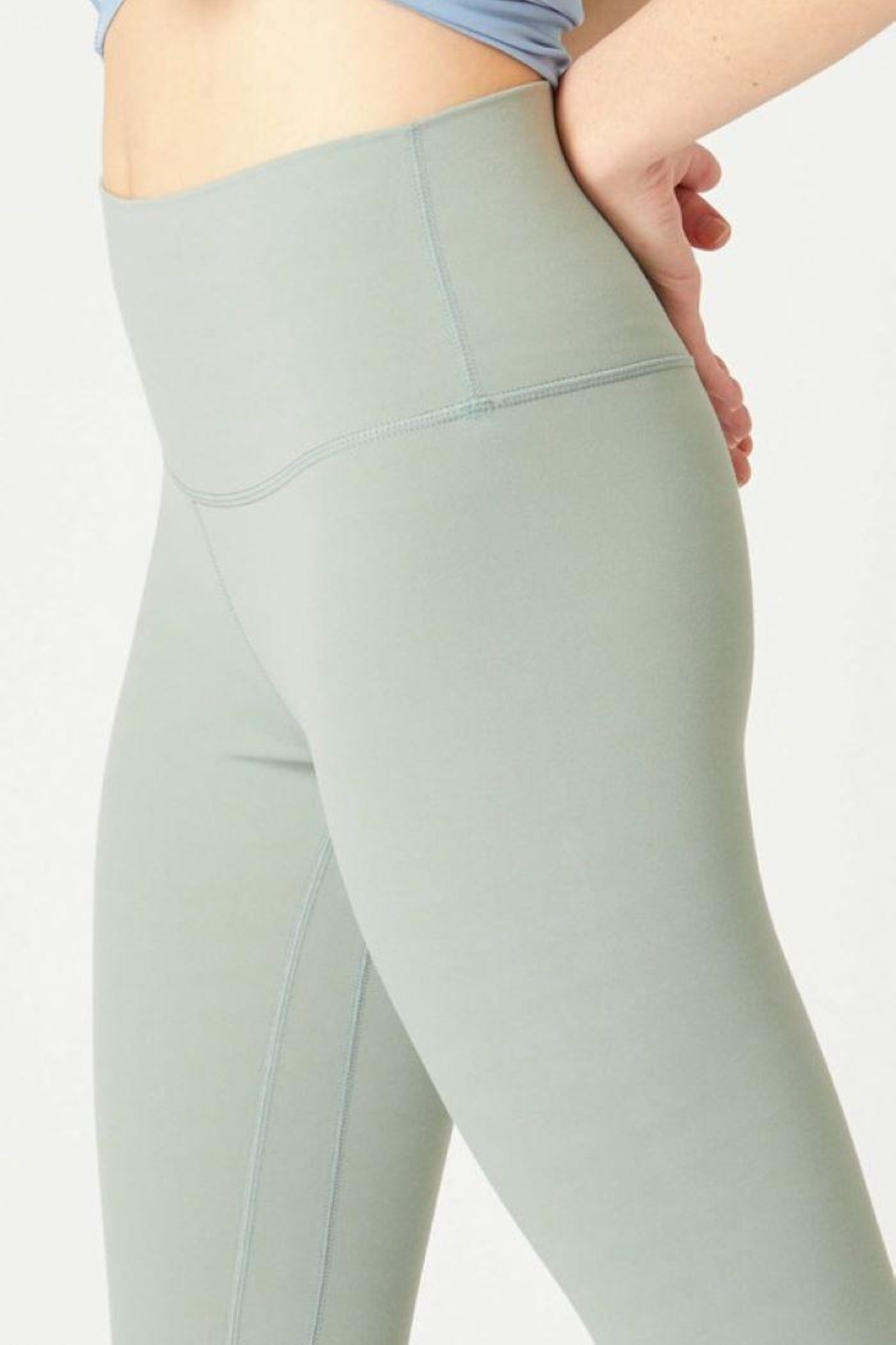 Lovetree High Waist Yoga Pants - Front Cropped Image
