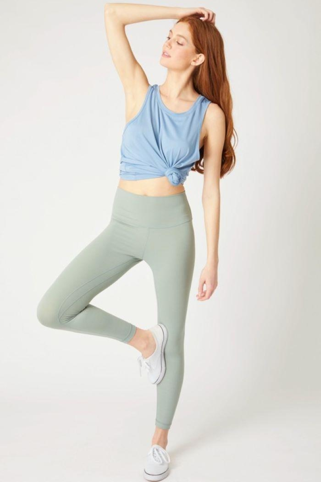 Lovetree High Waist Yoga Pants - Front Full Image