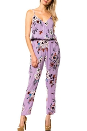 Lovetree Lilac Floral Jumpsuit - Product Mini Image