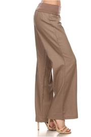 Lovetree Linen Palazzo Pants - Front cropped