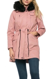 Lovetree Mauve Lightweight Parka - Product Mini Image
