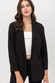 Lovetree Oversized Vertigo Blazer - Back cropped