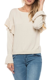 Lovetree Ruffle Sleeve Sweater - Product Mini Image