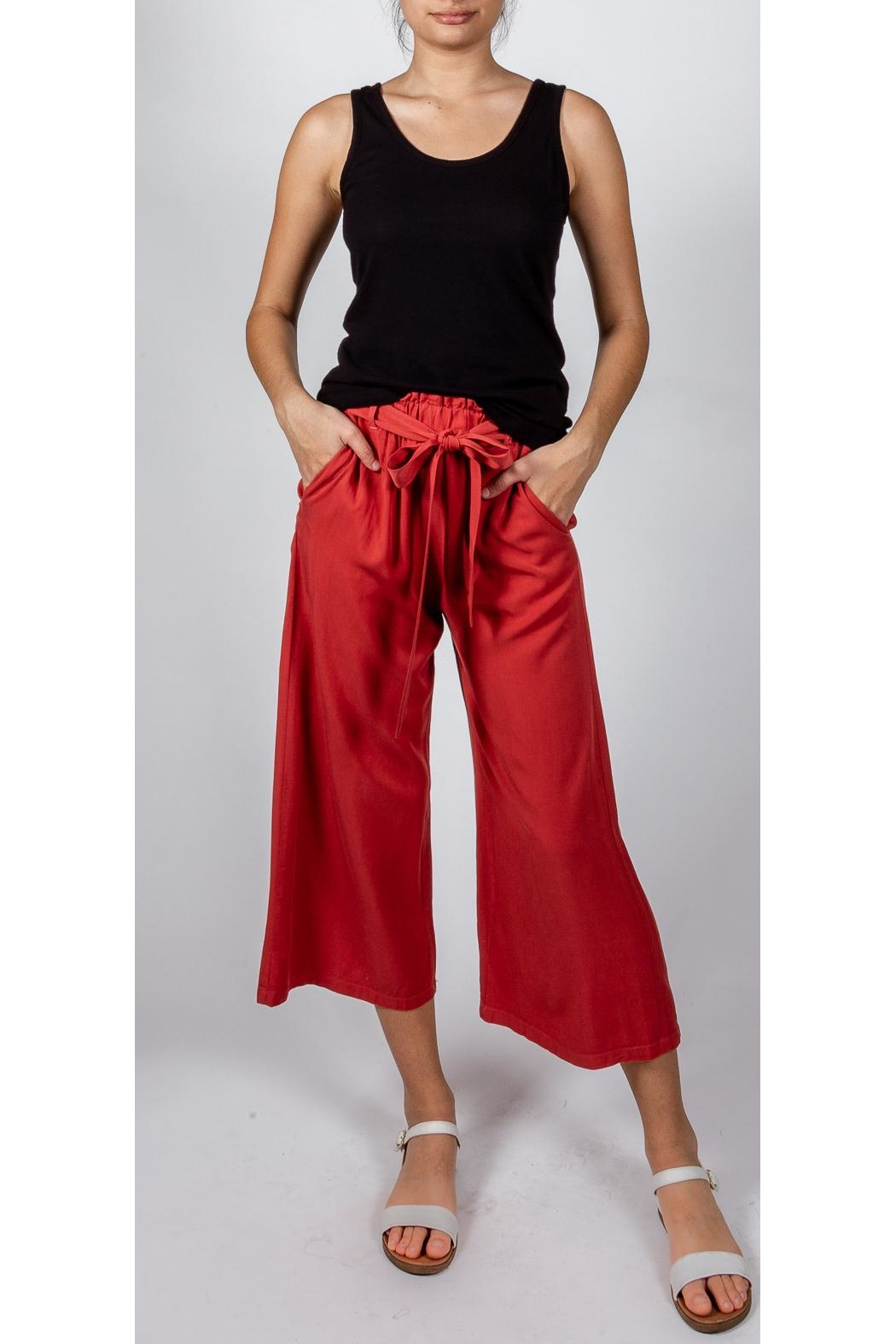 Lovetree Tie Waist Pant - Front Cropped Image