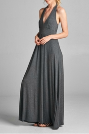 Loving People Halter Maxi Dress - Front cropped