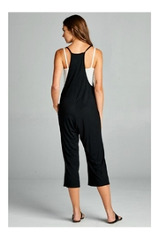Loving People Loose Fit Jumpsuit - Front full body
