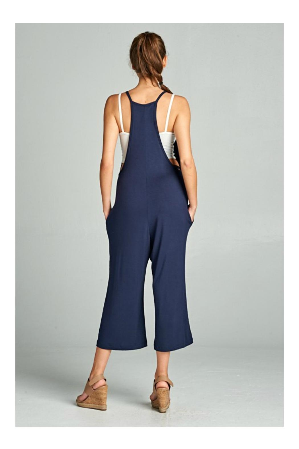 Loving People Loose Fit Jumpsuit - Front Full Image