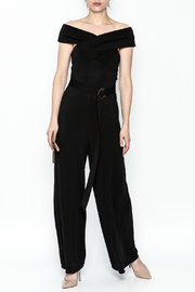 Lovposh Cross Off Shoulder Jumpsuit - Product Mini Image