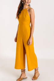 Lush  Low Back Jumpsuit - Product Mini Image