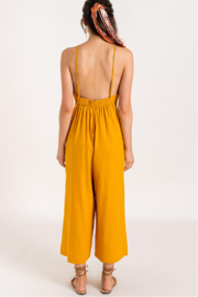 Lush  Low Back Jumpsuit - Front full body