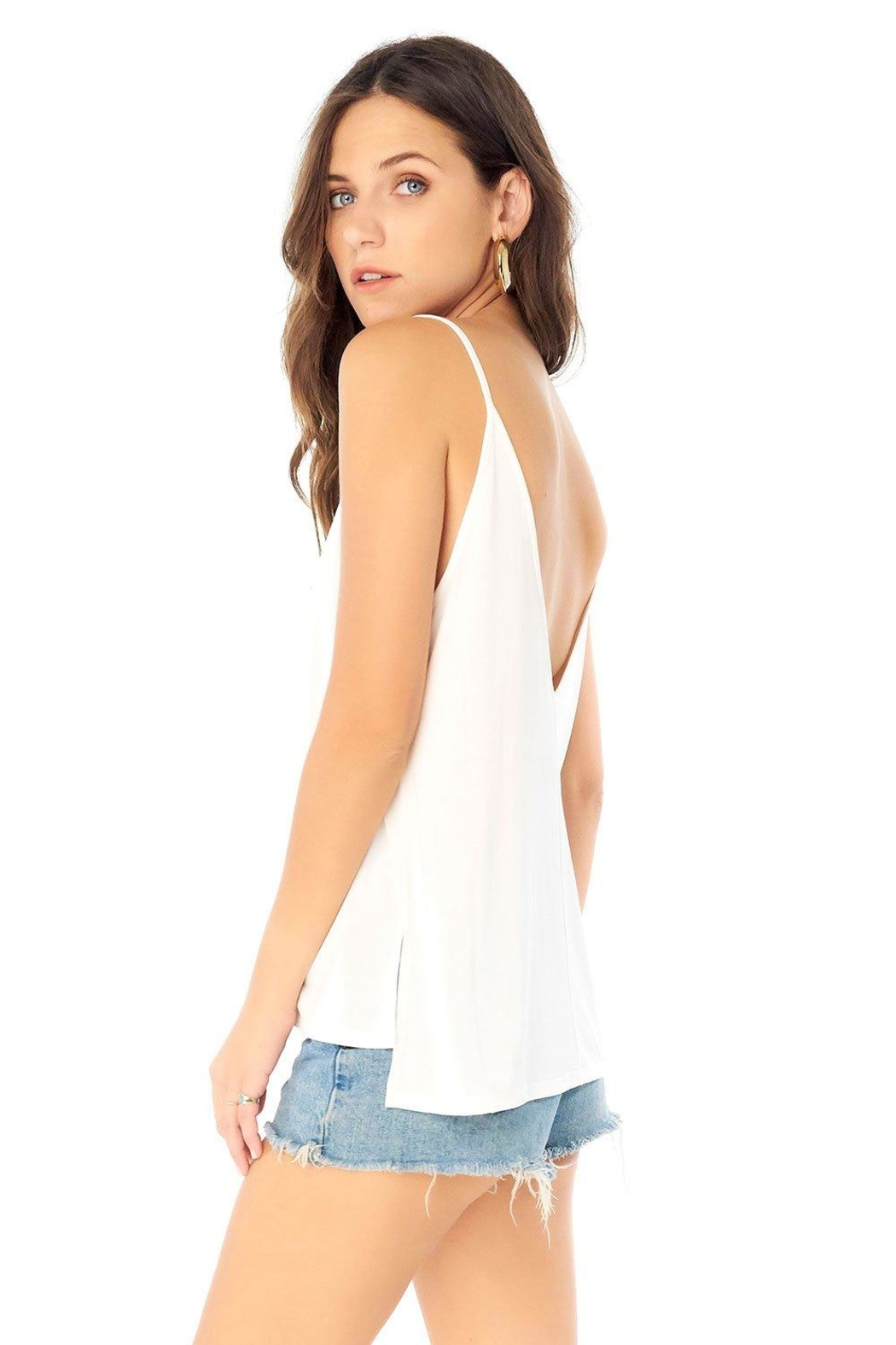 Saltwater Luxe Low Back Tank - Side Cropped Image