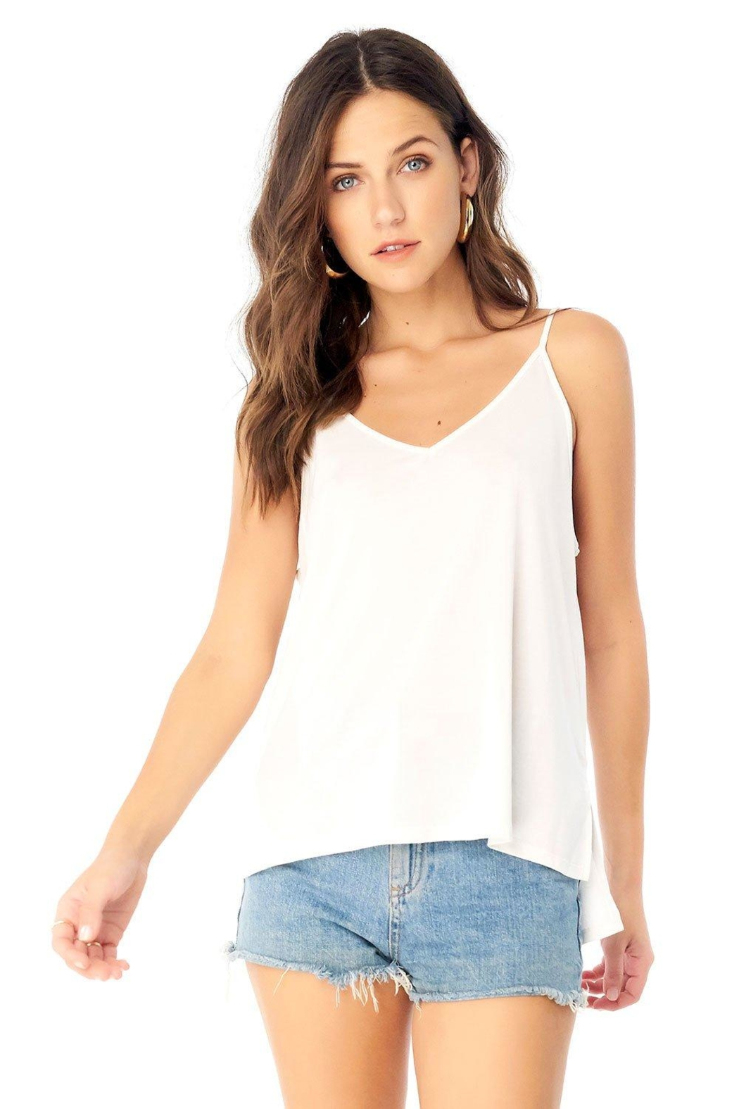 Saltwater Luxe Low Back Tank - Main Image