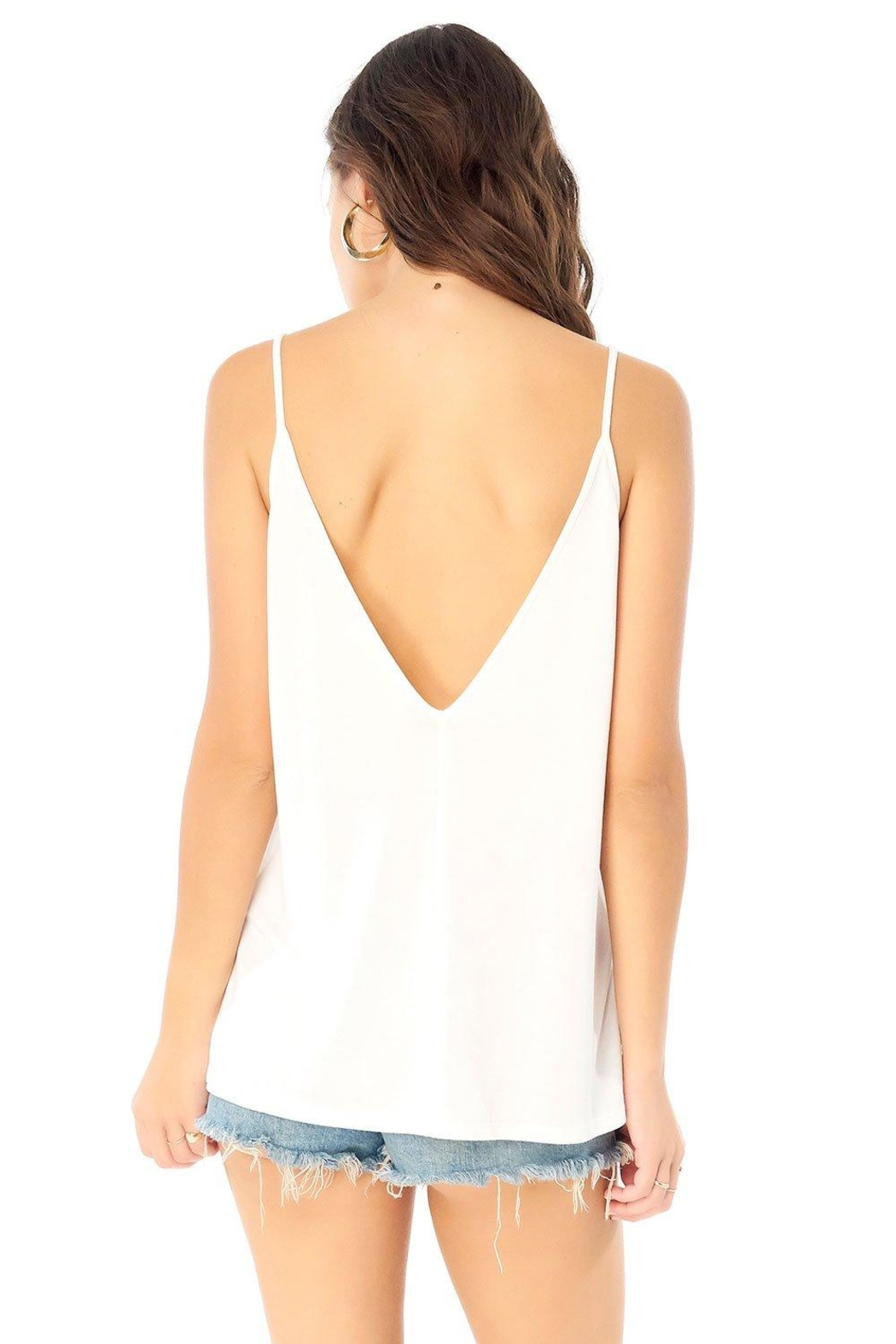 Saltwater Luxe Low Back Tank - Front Full Image