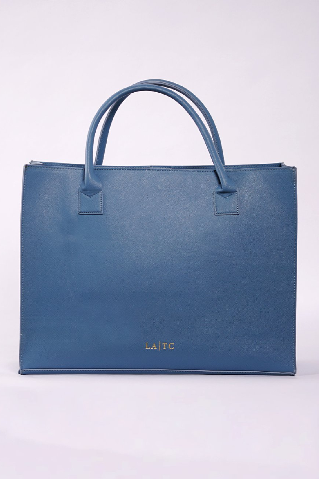 Los Angeles Trading Co.  Low Key Boujee Modern Tote - Back Cropped Image