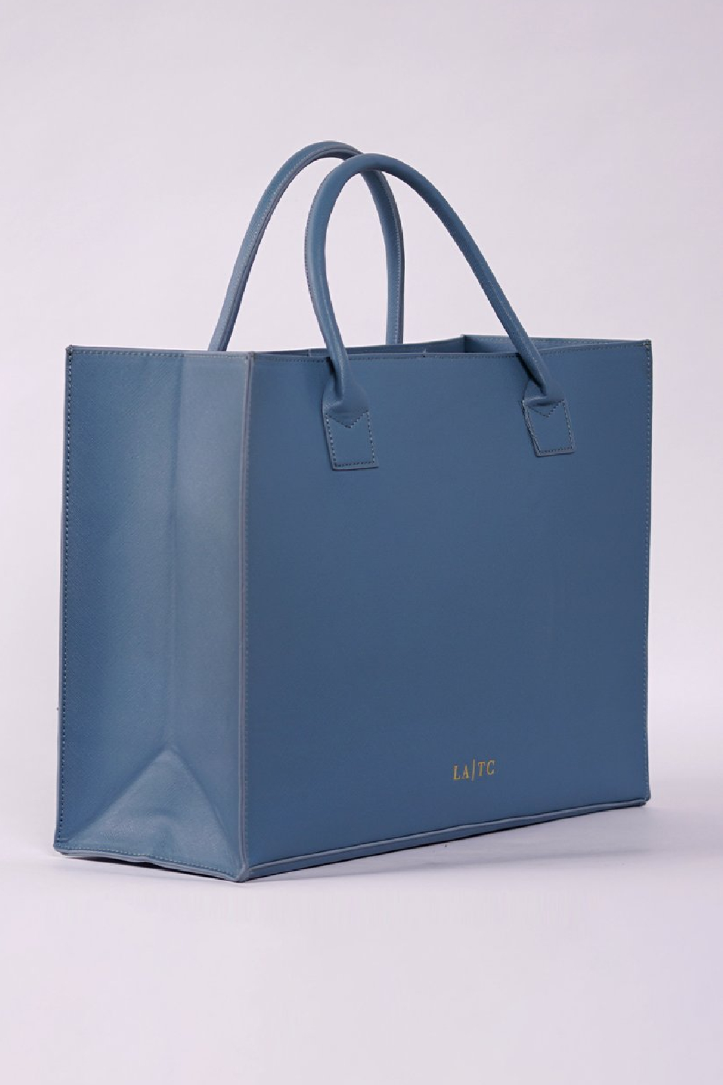 Los Angeles Trading Co.  Low Key Boujee Modern Tote - Side Cropped Image