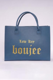 Los Angeles Trading Co.  Low Key Boujee Modern Tote - Front cropped