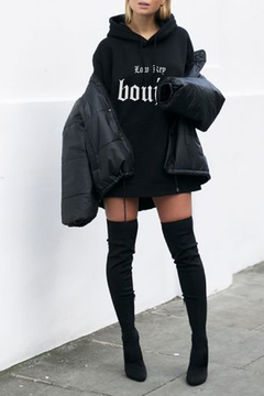 LA Trading Co. Low Key Boujee Overszed Hoody - Alternate List Image