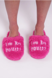 Los Angeles Trading Co.  Low Key Boujee Slippers - Product Mini Image