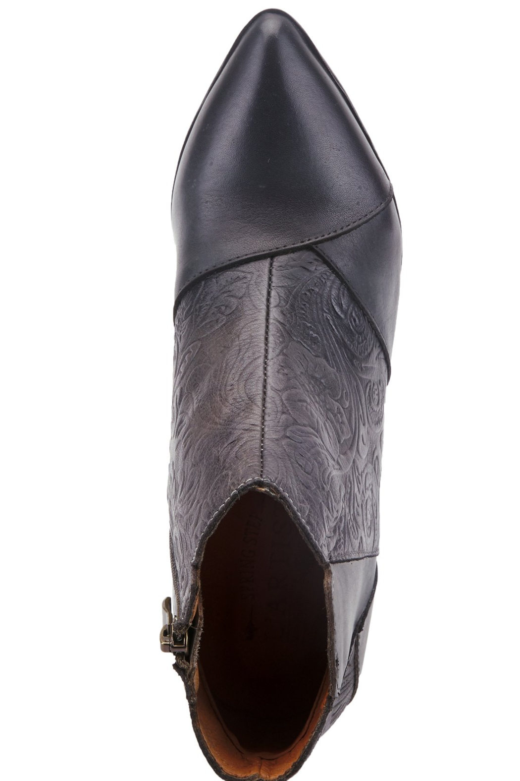 Spring Step  Low pointed toe bootie - Side Cropped Image