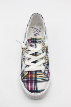 Blowfish Low Top Laced Plaid Sneakers - Alternate List Image