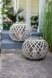 Kalalou LOW WILLOW LANTERN - Product Mini Image
