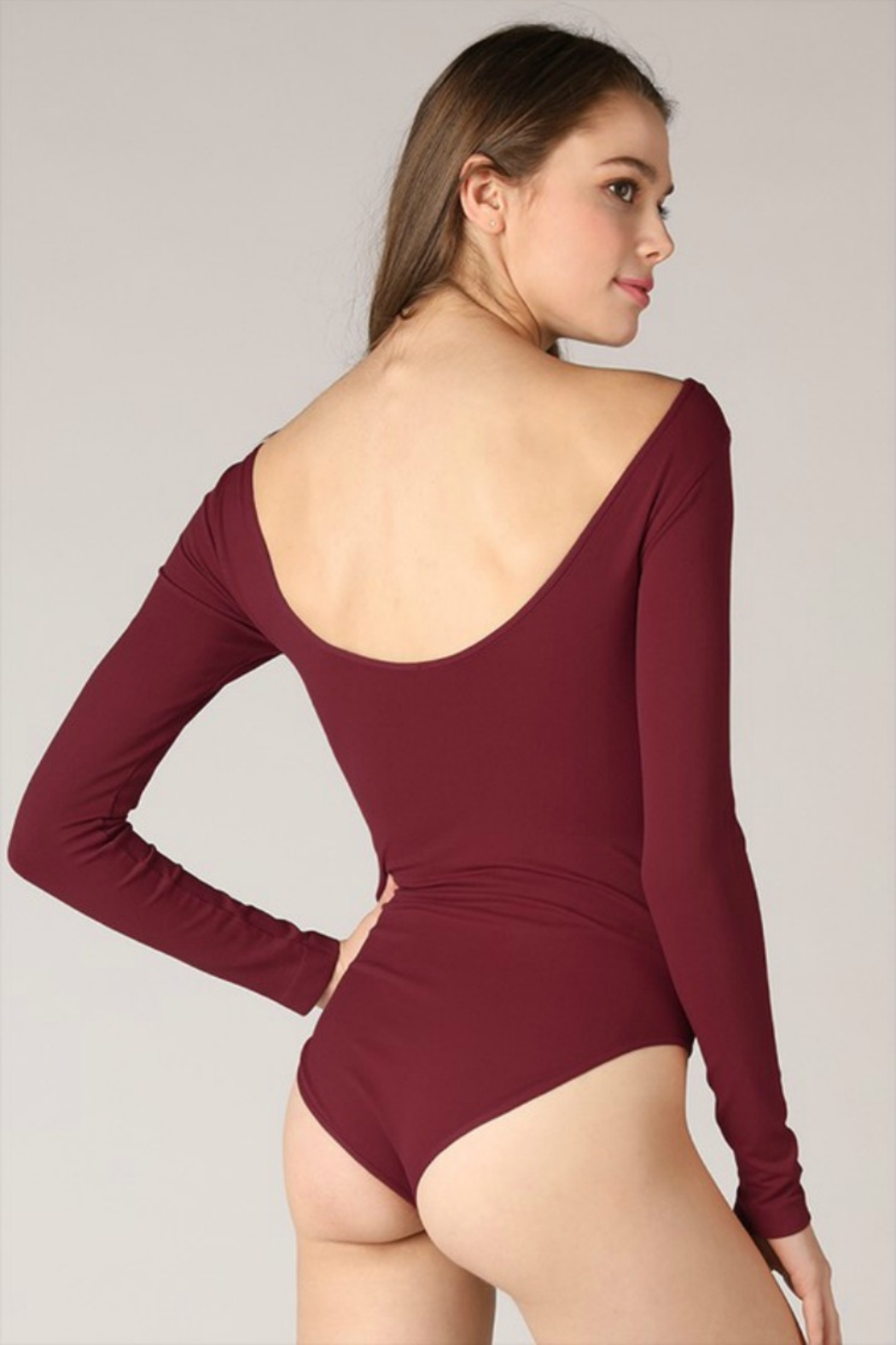 Nikibiki LOWBACK BODYSUIT - Side Cropped Image