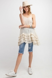 easel Lowly Silky Cami - Front cropped