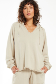 z supply Lowry Loop Terry Hoodie - Front cropped
