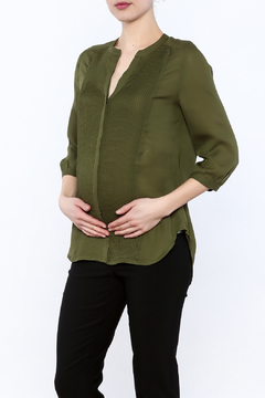 Shoptiques Product: Army Green Top