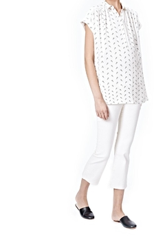 Shoptiques Product: White Nursing Blouse