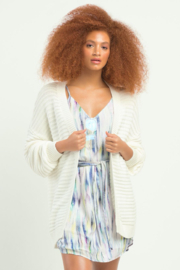 Dex Textured Knit Cardigan - Front cropped