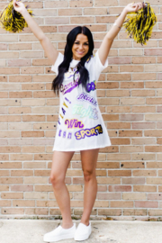 Queen Of Sparkles LSU Chant Dress - Product Mini Image