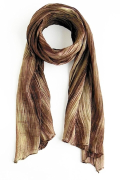 Shoptiques Product: Watercolor Beige Scarf