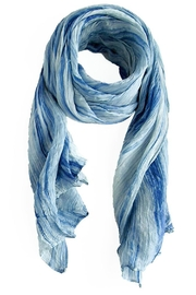 LUA Watercolor Silk Scarf - Front cropped