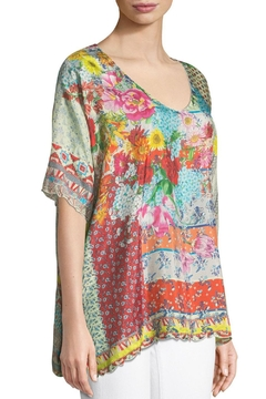 Johnny Was Luana Silk Blouse - Product List Image