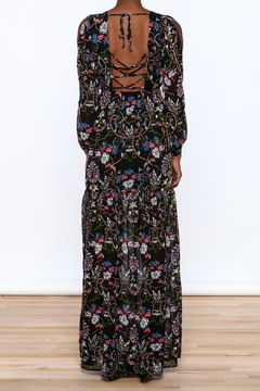 Lucca Black Garden Swirl Dress - Alternate List Image