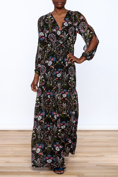 Lucca Black Garden Swirl Dress - Product List Image