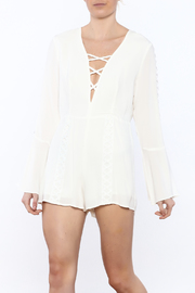 lucca couture Bell Sleeve Romper - Product Mini Image
