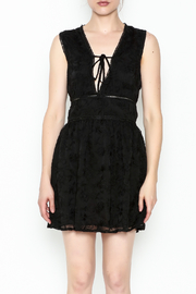 lucca couture Celine Deep V Dress - Front full body